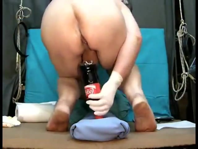 Coca cola bottle Lisa ann asslicking