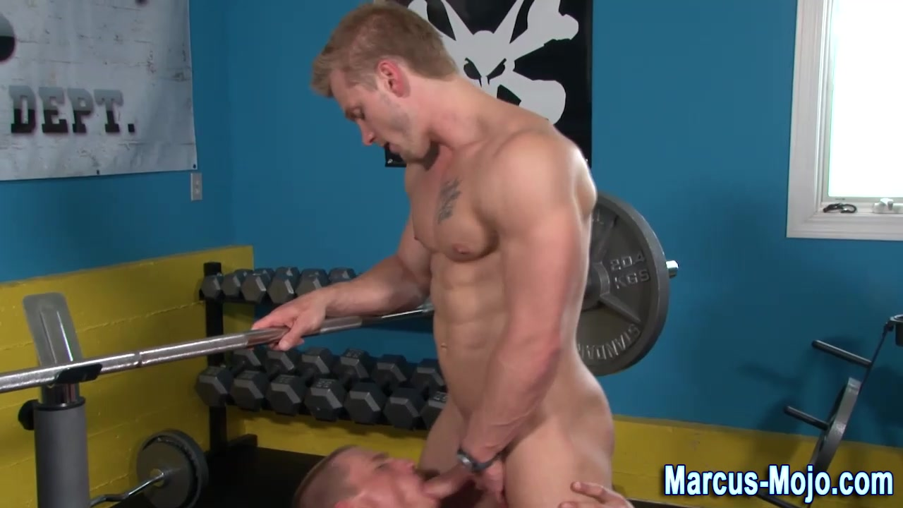 Marcus Mojo gobbles jocks cock tumblr hot sexy