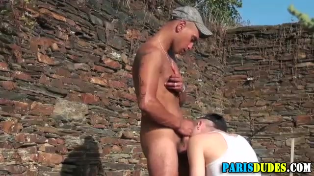 French dude tugs and cums outdoors Tv shows with a good love story