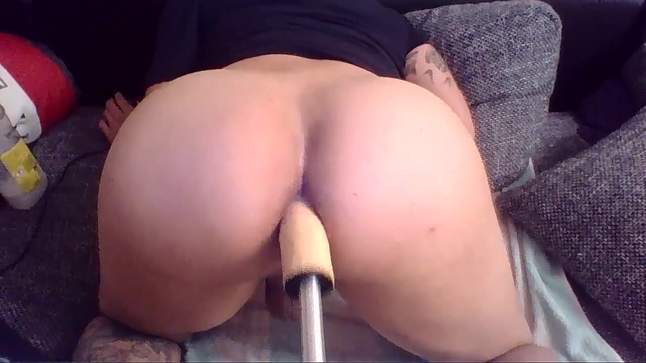 Big dildo anal fuckmachine with milk squirt Adult event las vegas