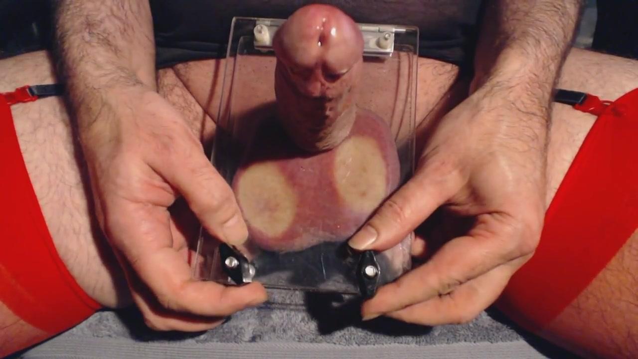 Ball torture and edging German shepherd fucks mature woman