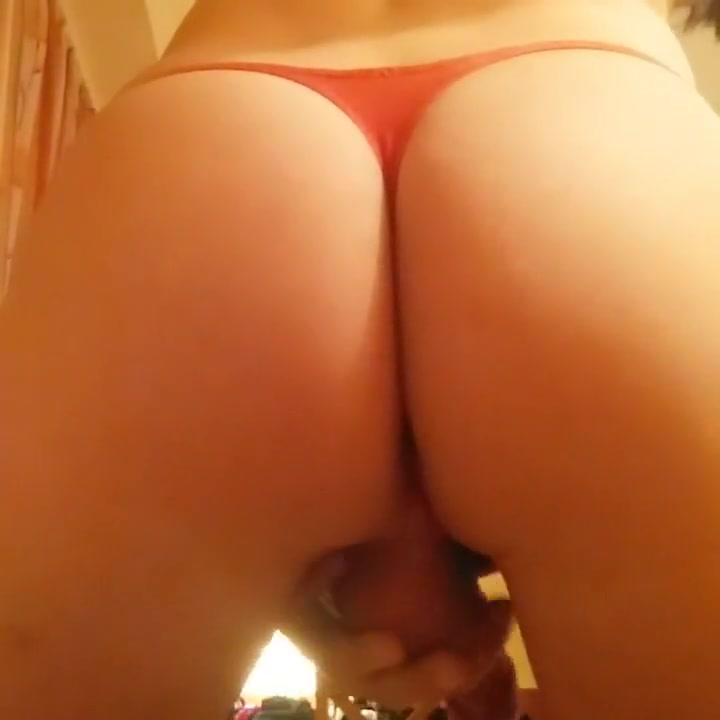 Thong wank in Hotel Nude milf flashing
