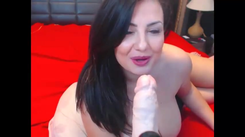 Sexy Busty Woman with Big Tits Playing Naked woman sex position pic