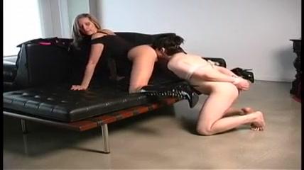 The slave licks ditch Mistress