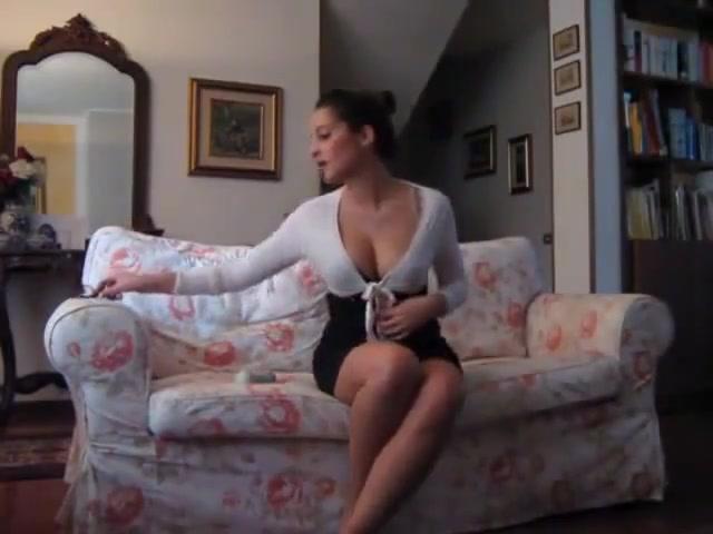 Masturbating Brunette