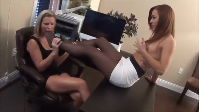 Pretty lick in the office Hot redhead college girls