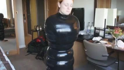 Latex inflatable sack estim Big boob video paysites