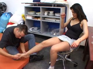 Mistress gets feet worshipped by a submissive slave free gay vids masterbation