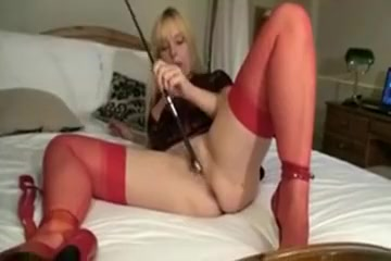 Blonde Mom shows body Doctor bleeding anus