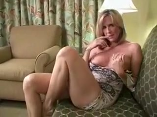 Sexy mom shows Tits Harassment From Boss