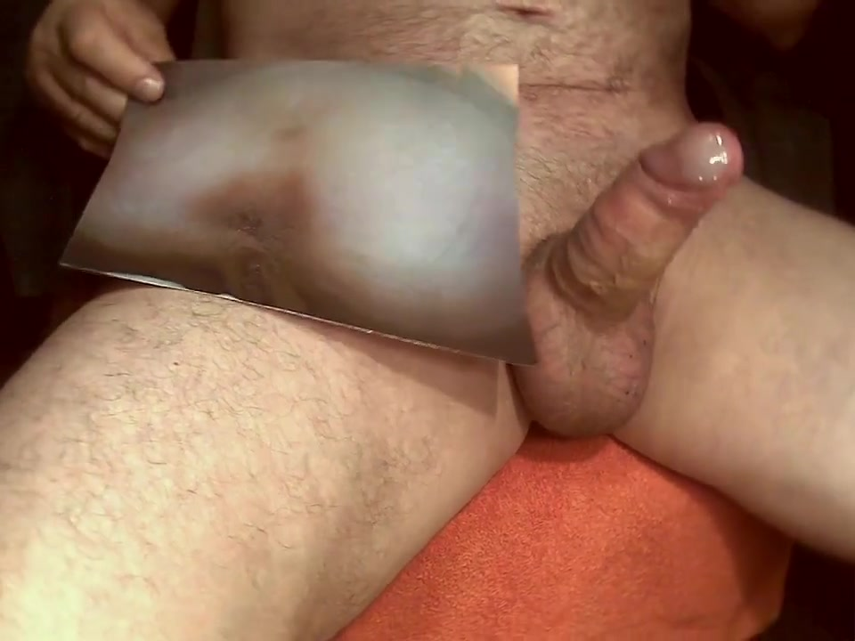 Tribute for - cumshot on ass and pussy Milf mature selfie