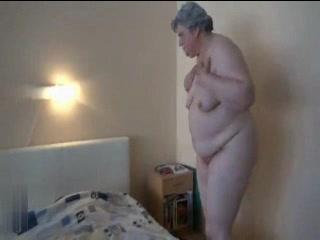 BBW Granny Masturbation