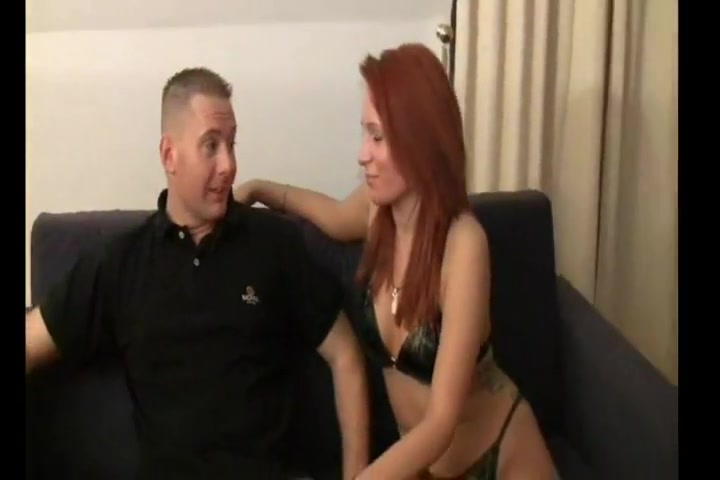 Redhead in Boots gets fuckd on the couch and the floor Sex Tube Gals