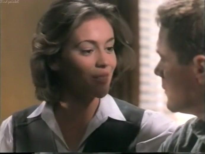 Deadly Sins (1995) - Alyssa Milano Kristen davis wall street madam naked