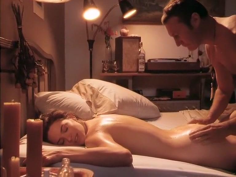 Full Body Massage (1995) - Elizabeth Barondes, Gabriella Hall Naughty milf asks for a facial cumshot