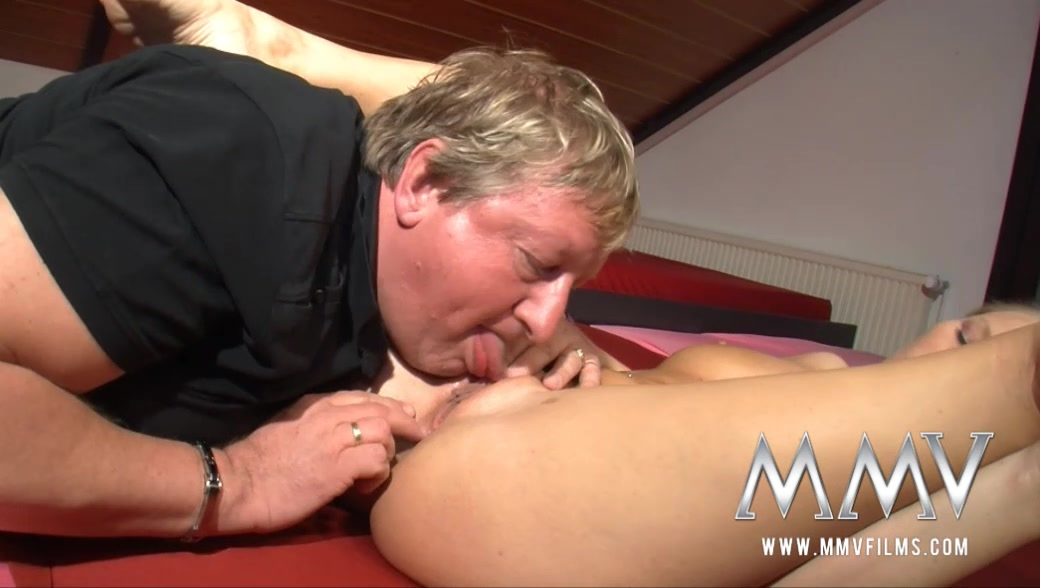 MMVFilms Video: Sexy Blonde Takes It On The Bed Ebony bbw big white dick