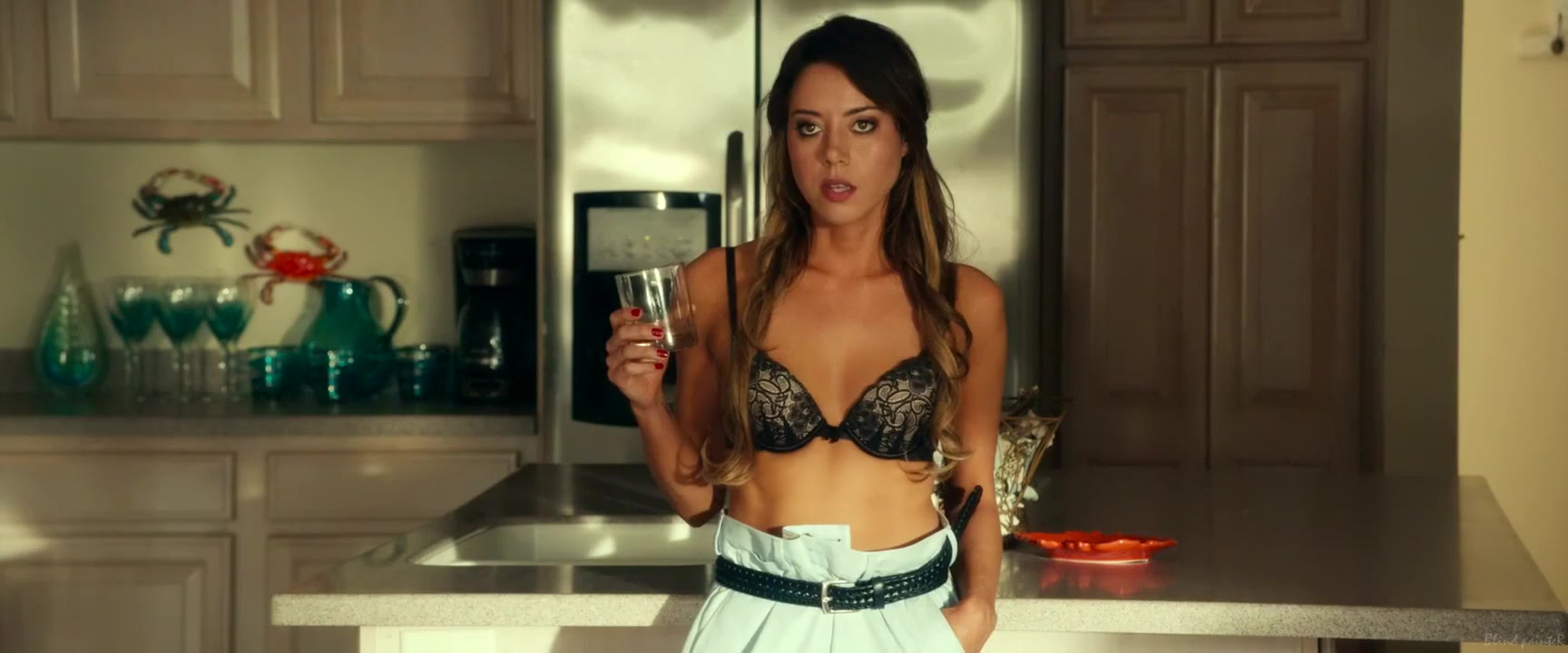 Dirty Grandpa (2016) Aubrey Plaza prettiest indian woman fucking