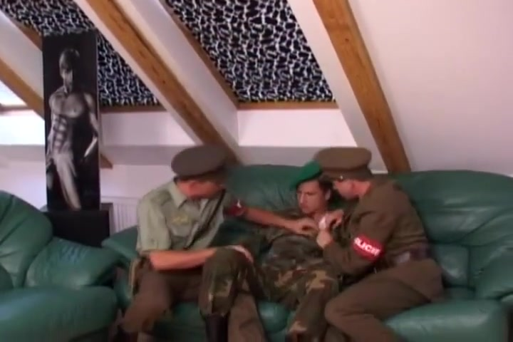 Army threesome awesome teen sex movies