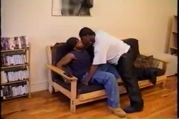 Black couple fucking skinny girl lesbian hardcore