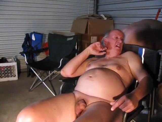 In the garage distinctive and wild threesome
