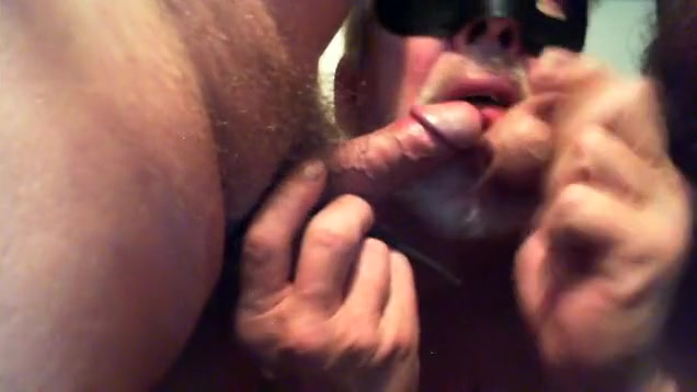 Fabulous homemade gay clip with Small Cocks, Blowjob scenes Black cock cums in my wife