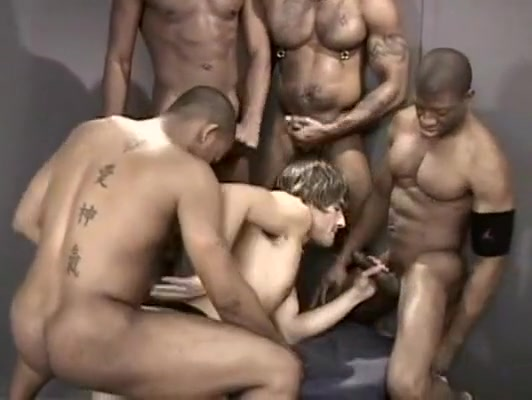 Crazy amateur gay movie with Gangbang, Interracial scenes Japanese squirt orgy