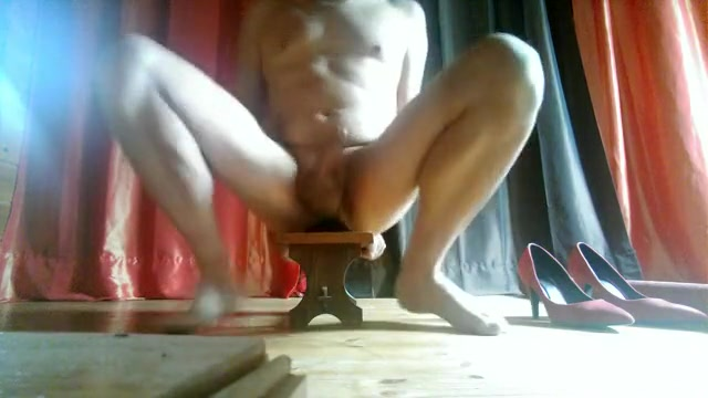 Horny homemade gay video with Masturbate, Solo Male scenes Ons sex strap
