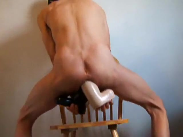 Hottest homemade gay clip with Dildos/Toys, Masturbate scenes Wahs long dildo