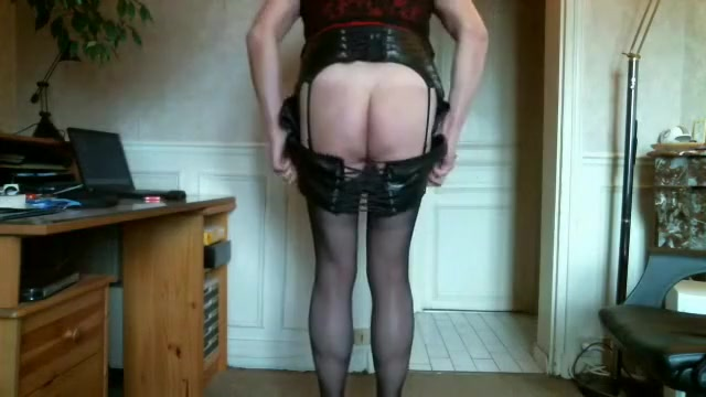 Horny homemade shemale video with Webcam, Mature scenes Redhead lezdom spanking her ginger sub