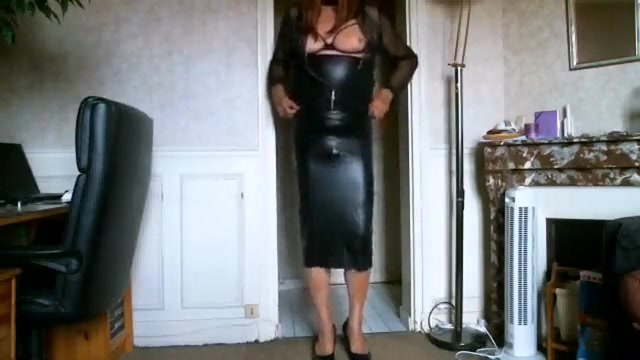 Amazing homemade shemale scene with Latex, Redhead scenes Double penetration white girl