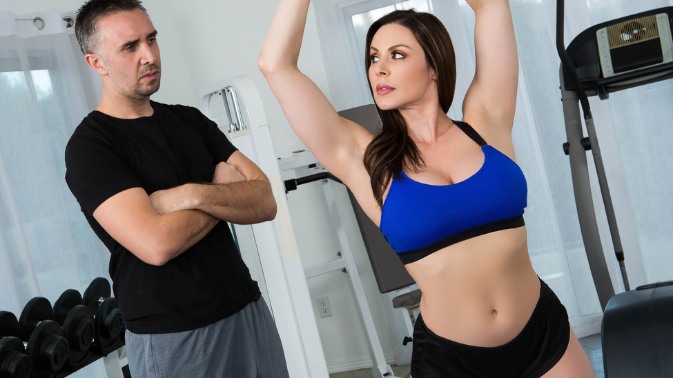 Kendra Lust & Keiran Lee in Personal Trainers: Session 1 - Brazzers