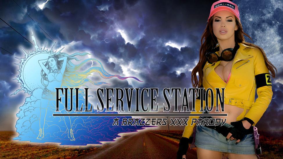 Nikki Benz & Sean Lawless in Full Service Station: A XXX Parody - Brazzers Sex Foot Hd