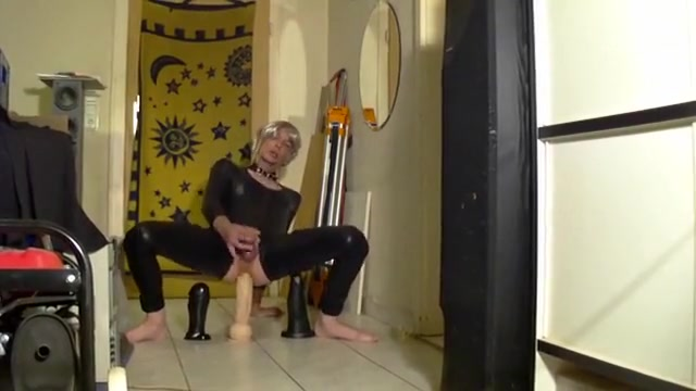 Hottest homemade shemale movie with Solo, Masturbation scenes