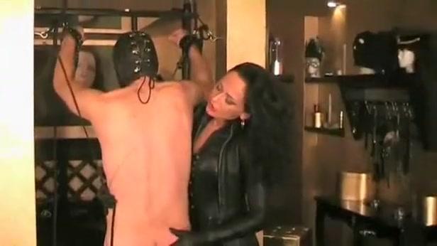 Incredible amateur Femdom, Brunette porn video