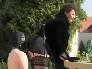 Exotic amateur BBW, Outdoor sex clip Black girls giving oral sex