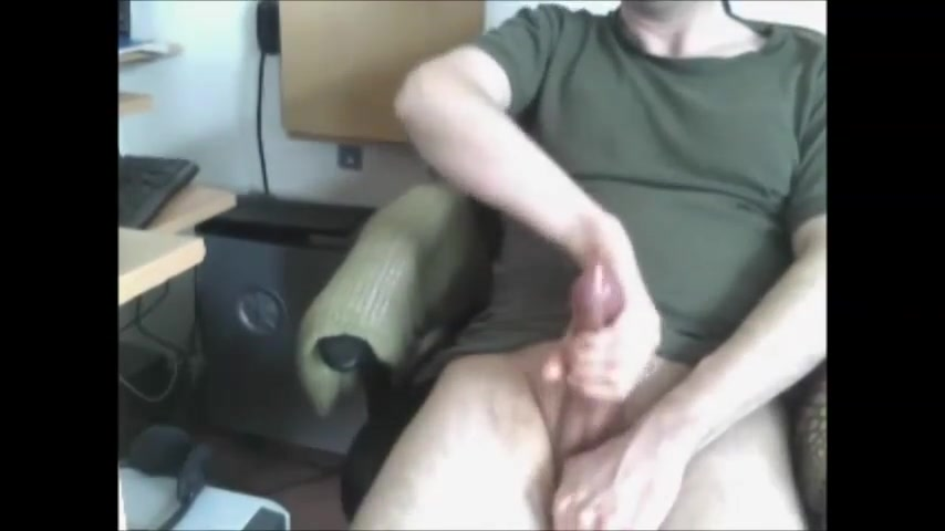 Big big cumshot in the air Is he just being friendly or is he interested