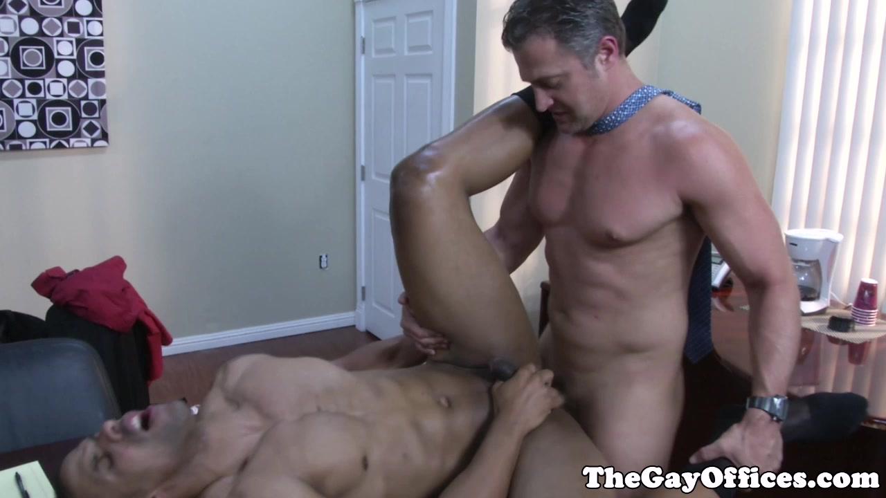 Robert Axel fucked on the office table Dirty uk wives