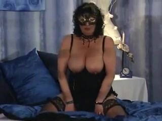Masked granny with big boobs gets laid Naked women pretty girl