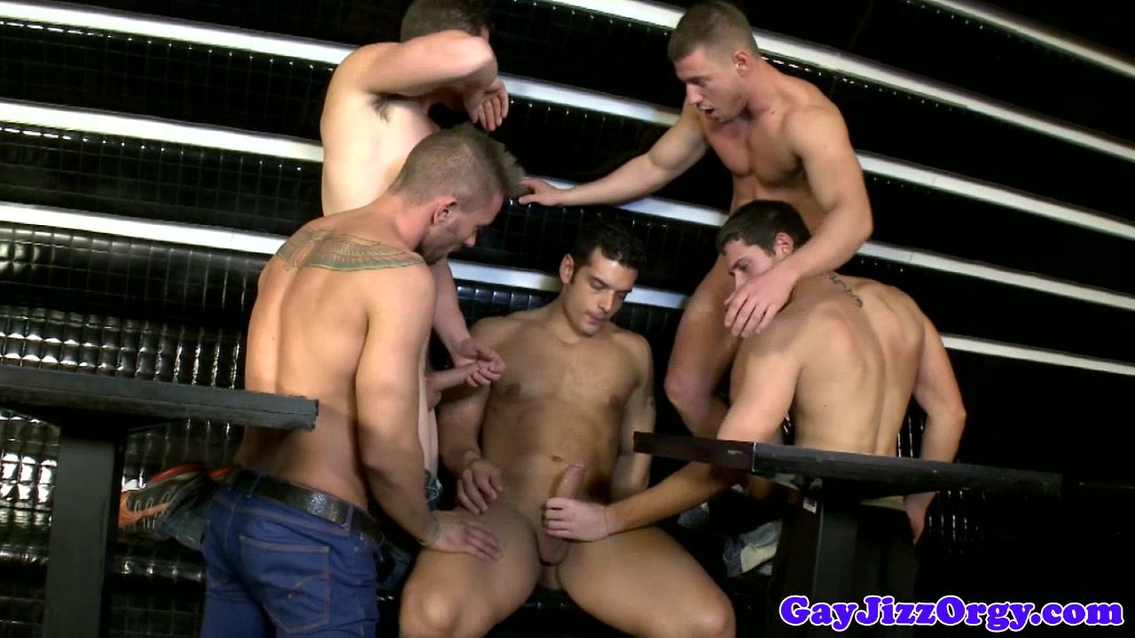 Andrew Stark in a gay nightclub orgy Euro pornstar pics