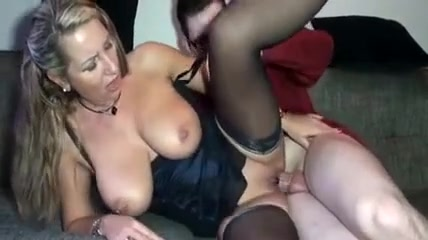 Best homemade Stockings, Big Tits sex video Mellie d big boobs