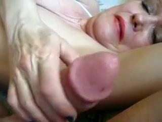 Best amateur POV, Handjobs sex movie Girl masturbating in her pajamas