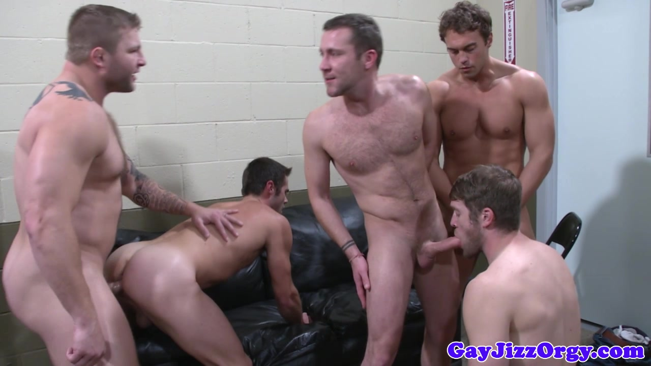 Cumshots galore at a Colby Jansen orgy Flo progressive surprised by giant cock