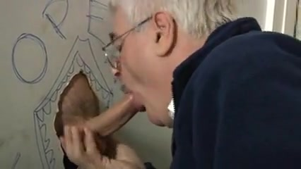 Silver daddy working a big uncut glory hole cock... Seeking an intelligent friend in Bonn