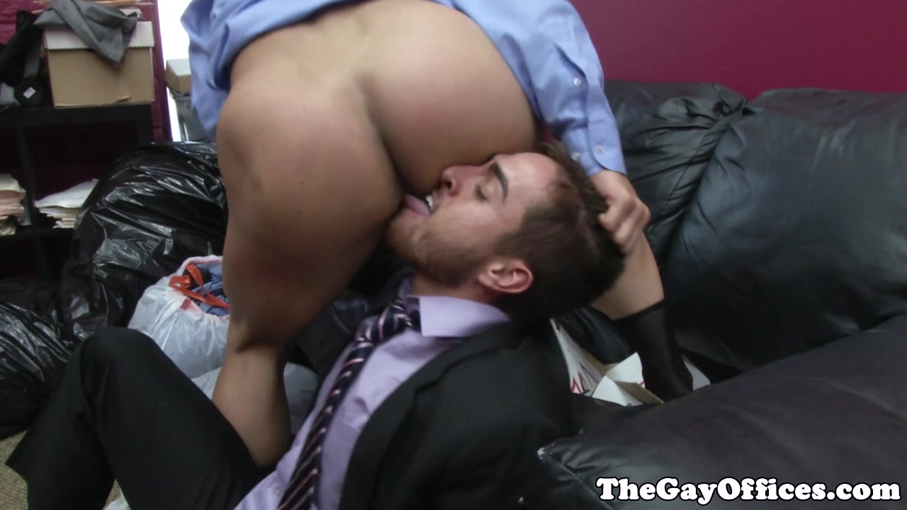 Office boss John Magnums rough justice breast role during intercourse