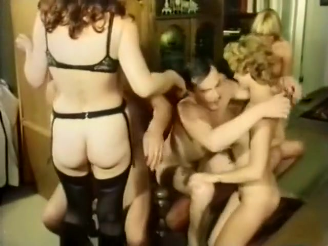 Hottest Hairy, Vintage porn scene Nice sexy babes