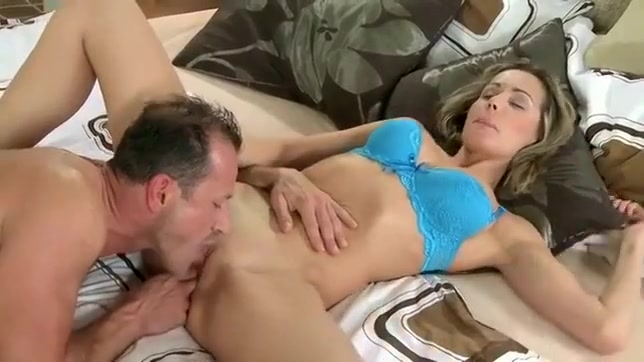 Amazing Couple, Cunnilingus porn movie With Peter