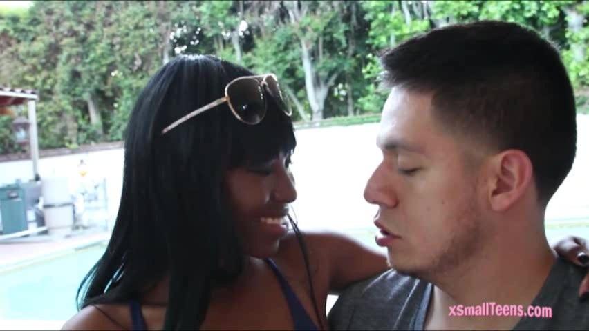 Black ebony Ashton Devine receives cum facial by big shaft asian lesbos licking pussy hardcore