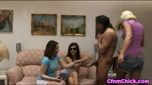Blind domina and babes tug Nude francine dee with red earrings