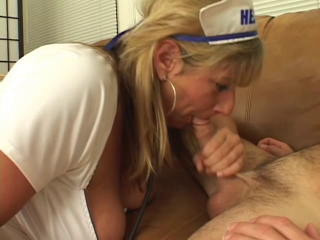 Breasty golden-haired nurse sucks and motorboards fellas weenie Teenpussy with sexy archs