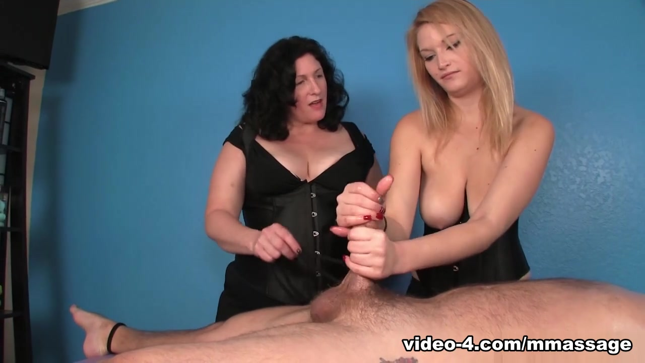 Punished By Mom and Daughter - MeanMassage white trash gay boy